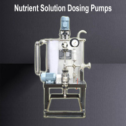 Nutrient Solution Dosing Pumps