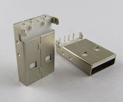 USB Male Right Angle Connector