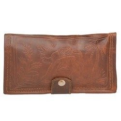 Genuine Leather Currency Wallet WLT103