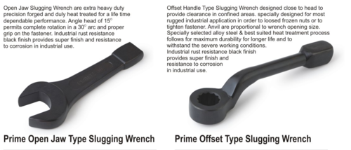 Slogging Wrench