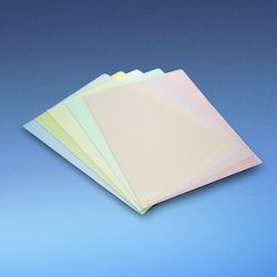 Colored L Shape Clear Folder