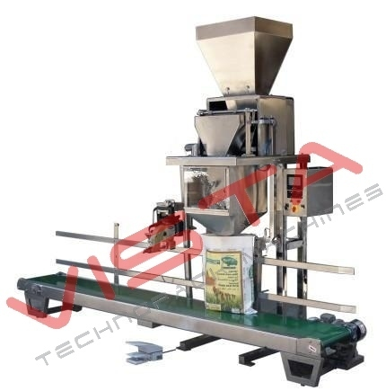 Automatic Rice Granule Filling and Packaging Machine, Capacity: 1 kg