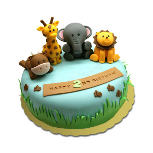 Birthday Cake Kids Animal Cake Wholesaler From Bengaluru