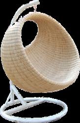 round cane chair