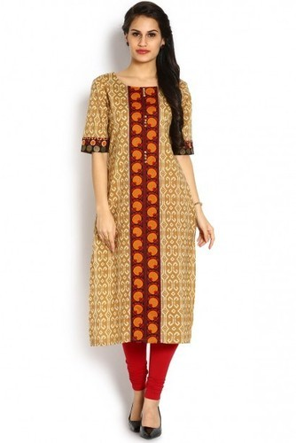 e437380e146 Kurties - Multicoloured Printed Straight Kurti Retailer from Bengaluru