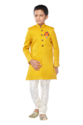 Indo-western Suit Yellow