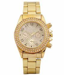 BYC Golden Analog Watch