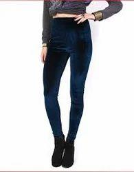 Designer Velvet Leggings