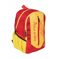 Polyester Yello Yellow and Red Laptop Bags