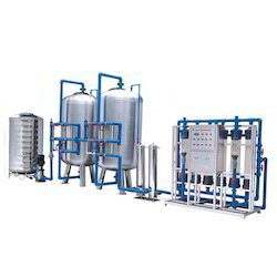 Stainless Steel And FRP Industrial Reverse Osmosis Plant, Chlorinator And Ultra Filtration Plant