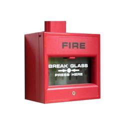 Copper, M S Body Red Fire Alarm System