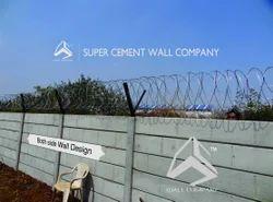 Concrete Folding Ready Made Boundary Wall