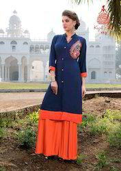Cotton Kajal Style Designer Kurtis