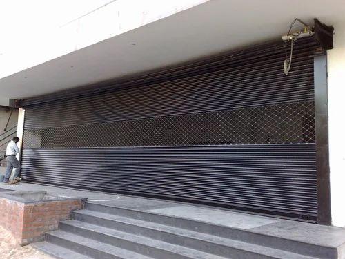фасадные рольставни стальные