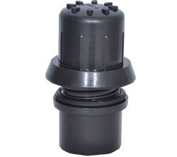 Black PVC Plastic Flush Ball Valve