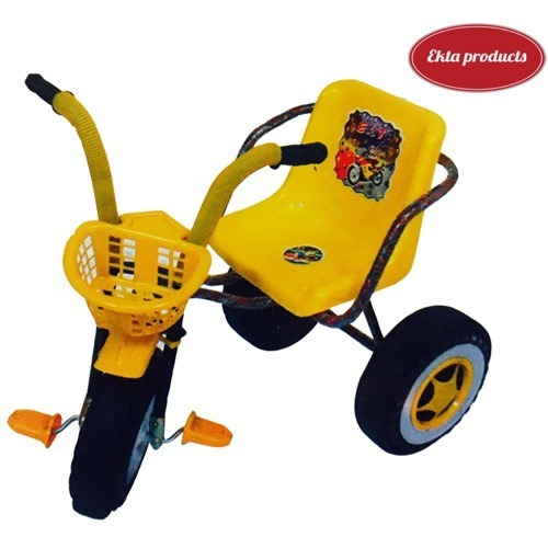 631177c94b4 Multicolor Plastic Kids Tri Cycle, Ekta Cycle Industries | ID ...