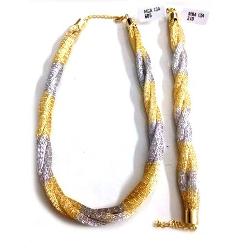 karat product zfolio chains gold collection italian cm chain color mesh titanium yellow