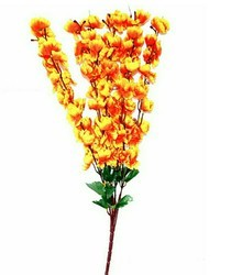 Hyperboles Artificial Blossom Yellow 7 Stick Bunch