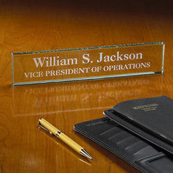 Engraved Custom Name Plate