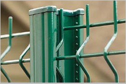 PVC Coated Fence Post