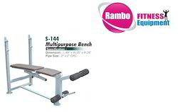 Flat Bench With Support
