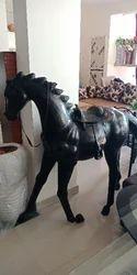 Designer Wooden Table Horse