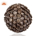 Wholesale Pave Diamond Beads Ball Finding