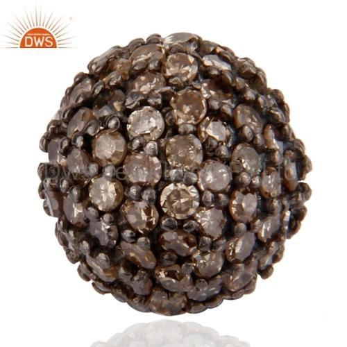 Dws Wholesale Pave Diamond Beads Ball Finding