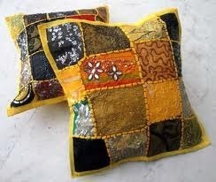 Beaded Cushion Cover