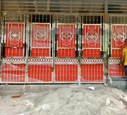 Steel Gate Work