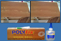 Instant Glue for Filling Cracks and Holes in Wooden Furniture