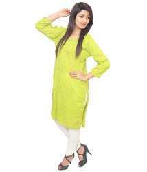 Trendy Regular Cotton Kurti