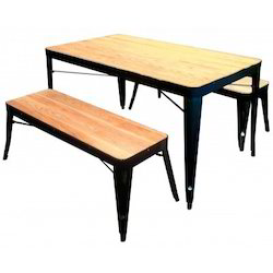 Tolix Bench Table