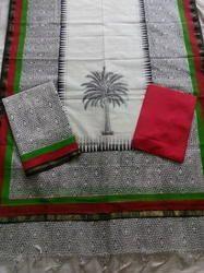 Kota Dupatta Plain Chanderi Suit