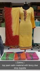 Designer Semi Stitched Suit