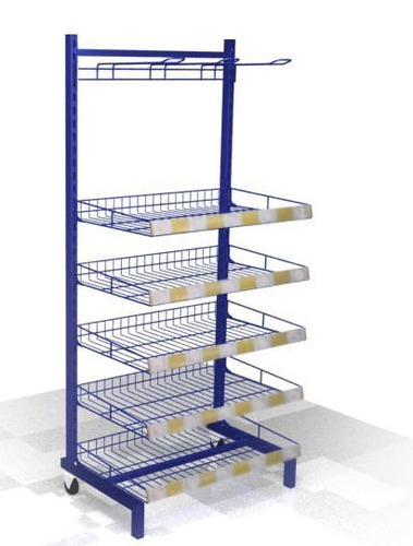 Display Stand Metal Wire Rack, Retail Display Stands And Fixtures ...