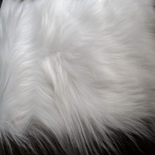 White Fur Fabric at Rs 425 /me...