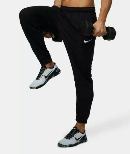 4e135a76d762 Male Navy Blue And Black Nike Track Pant