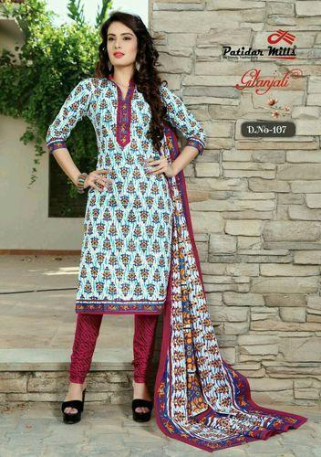 833cd05560 Embroidered Patidar Mill Cotton Dress Material, GSM: 100-150, Rs 250 ...