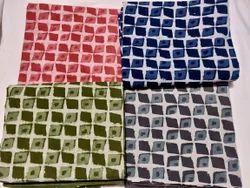 Ladies Cotton Dabu Printed Dress Material