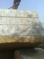 Sand Stone Gwalior Mint Block, Random Size