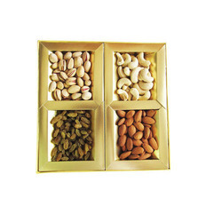 Paper Dry Fruit Packaging Box, Size: Packaging Bags