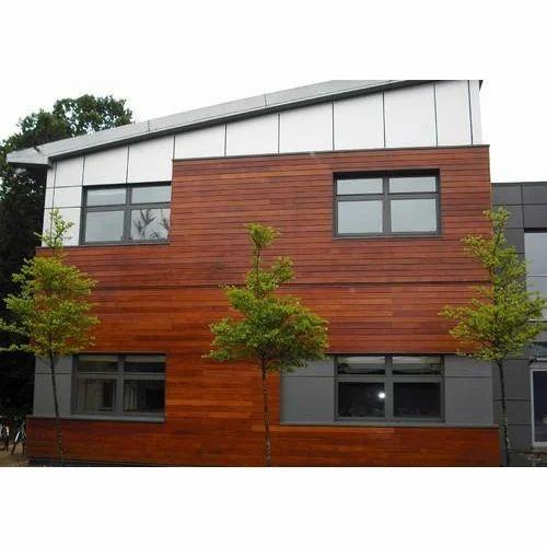 Exterior Wooden Cladding Wood Cladding Kasper Wood Cladding Kolhapur Id