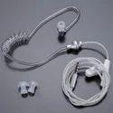 White Wireless Hands Free Spiral Headphone