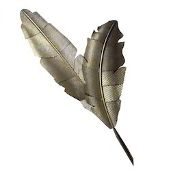 Metal Leaf Design Wall Art