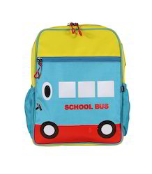 Blue Bus Small School Bag