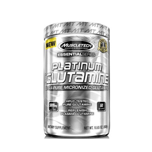 Muscletech Muscle Growth & Recovery Unflavour Platinum 100 Glutamine
