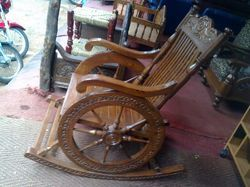Wooden Carved Resting Chair
