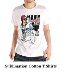 Sublimation Cotton T Shirts