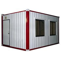 White And Gray Steel Industrial Portable Bunk House